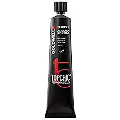 Goldwell Topchic Elumenated Haarfarbe 8N BS, 1er Pack (1 x 60 ml)