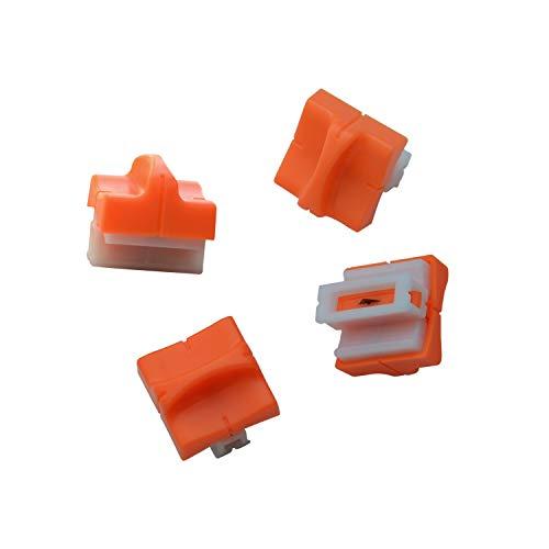 WORKLION ペーパーカッター 裁断ブレード: ペーパートリマー 軽量ミニ裁断機用替刃 紙 写真 クーポン スライドカッターナイフ (1組=4個付け)