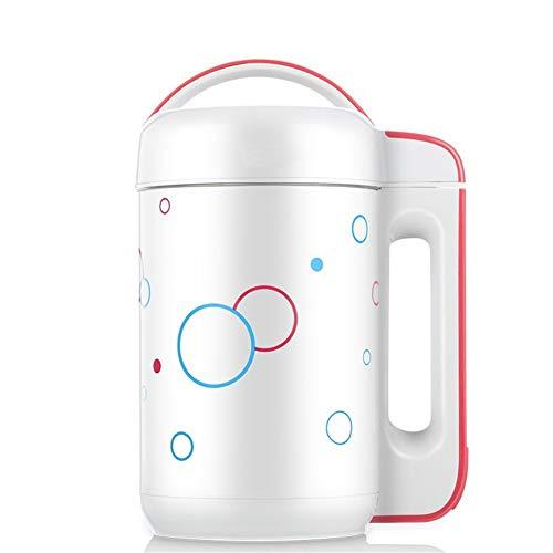 Nicht-Mesh-Edelstahl weiß Sojamilch Maschine Soja-Bohne Milch Schleifen (Color : White, Size : 220V)