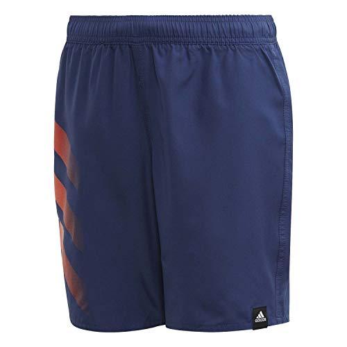 adidas Jungen YA BD 3S Shorts Swimsuit, tech Indigo, 1112Y