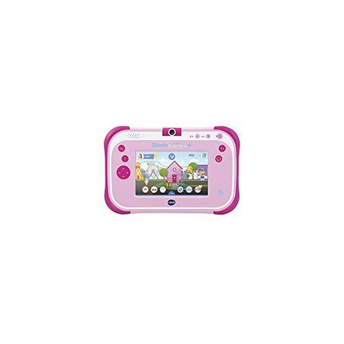 VTech - Storio Max 2.0 rose - Tablette pour Enfant 3 ans à 11 ans - Ecran Tactile 5 pouces – Version FR
