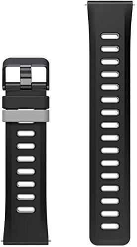 Ticwatch Cinturino sostituibile per Smart Watch Cinturini di Ricambio da 22 mm per Smartwatch Braccialetto di Ricambio Silicone Sportivo