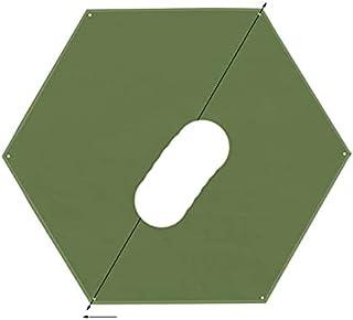 Vattentät campingpresenning multifunktionell picknickmatta tält fotavtryck för camping, vandring och överlevnadsutrustnin...