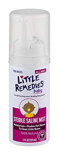 Little Remedies Sterile Saline Nasal Mist | Safe...