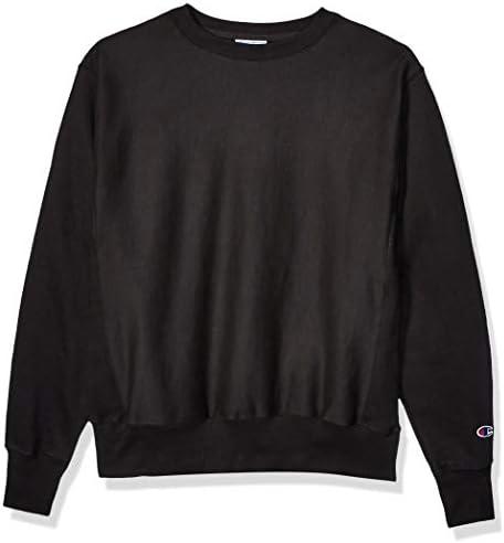 Champion LIFE Men s Reverse Weave Sweatshirt Black XL product image