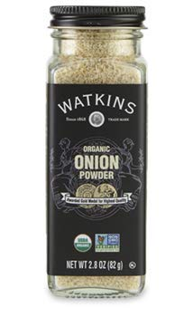 Watkins Gourmet Organic Spice Jar, Onion Powder, 2.8 Oz