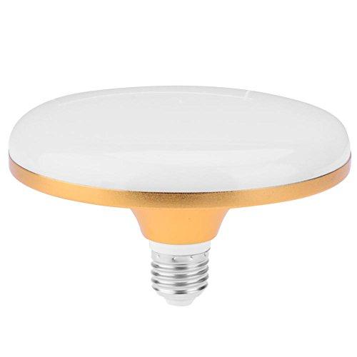 E27 Bombilla LED, Everpert Bombilla Plana Ahorro de Energía del UFO de la Lámpara de la 220V SMD5730 LED para la Iluminación Casera (30w)