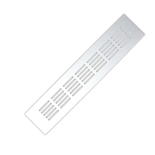 Cuiling-valla de aire Aleación de aluminio de salida de aire, Chapa perforada Web Hoja Rejilla de ventilación, for el armario de zapatos armario de la cubierta decorativa, 15cm-60cm rejilla de