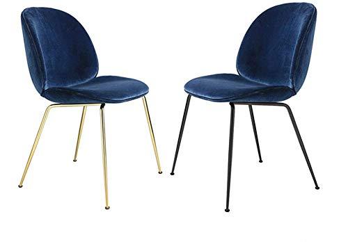 Nordic metalen eetkamerstoel casual persoonlijkheid eenvoudige computer stoel moderne creatieve mode cafe stoel Modern design 3 Kleur