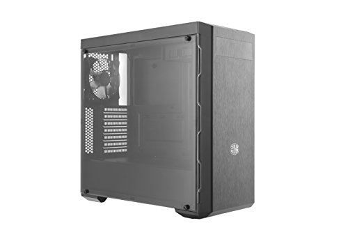 Cooler Master, MCB-B600L-KA5N-S02, MasterBox MB600L con ODD, Gunmetal Trim Case per PC, ATX, MicroATX, Mini-ITX, USB 3.0, con Finestra Laterale