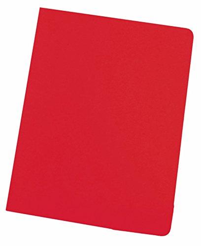 Elba Gio 400040487 - Pack de 50 subcarpetas simples, A4, color rojo