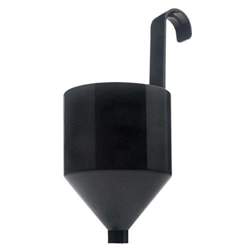 WAGNER Viskositätsmessbecher groß für WAGNER Farbsprühsysteme CupGuns W 95 und W 180 P, Durchmesser 4 mm, Schwarz