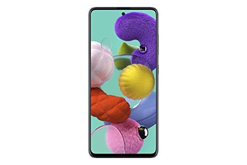 Samsung Galaxy A51 (A515F) 128GB DUOS GSM Unlocked Smartphone w/Quad Camera 48 MP + 12 MP + 5 MP + 5 MP (International Variant/US Compatible LTE) - Prism Crush Black