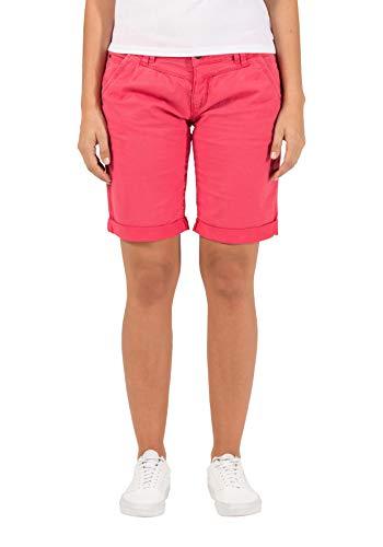 Timezone Damen Slim NaliTZ Shorts, Rot (Dark pink 5060), W25