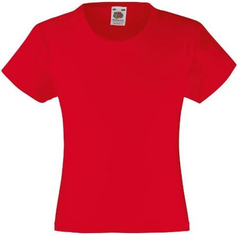 Fruit of the Loom Camiseta Cuello Redondo Para Niños SS079B