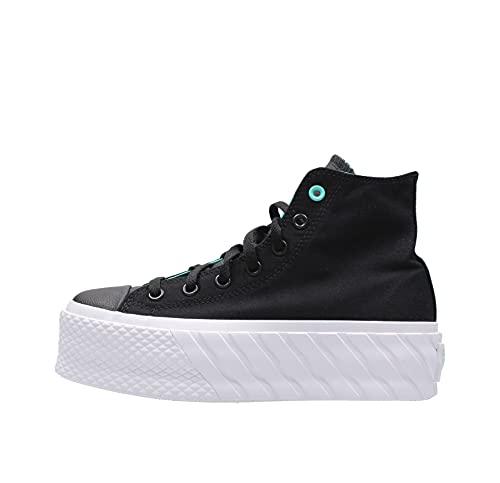 Converse CTAS Lift 2X HI Zapatos Deportivos para Mujer Negro 571675C