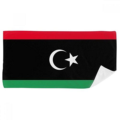 DIYthinker Libyen National Flagge Afrika Land Badetuch weichen Waschlap Kulli Waschlap Kulli 35X70Cm 35 x 70cm Mehrfarbig