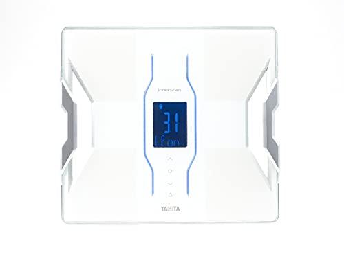 TANITA RD-953 Bianco, Premium Designer, Analizzatore di composizione corporea, Connessione Bluetooth My TANITA Healthcare App