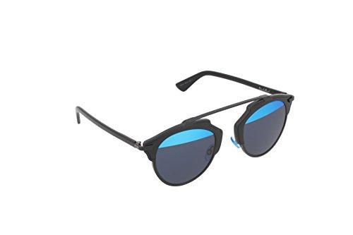 Dior Damen Diorsoreal Y0 B0Y 48 Sonnenbrille, Schwarz (Black/Blue Blute)