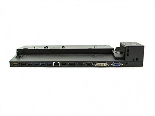 Lenovo Docking Station inkl. Netzteil (90W) Ultra Dock Original ThinkPad T560 (20FH/20FJ) Serie (Generalüberholt)