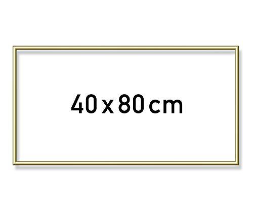 Schipper 605130708 Malen nach Zahlen, Alurahmen 40 x 80 cm, goldglänzend ohne Glas für Ihr Kunstwerk, einfache Selbstmontage