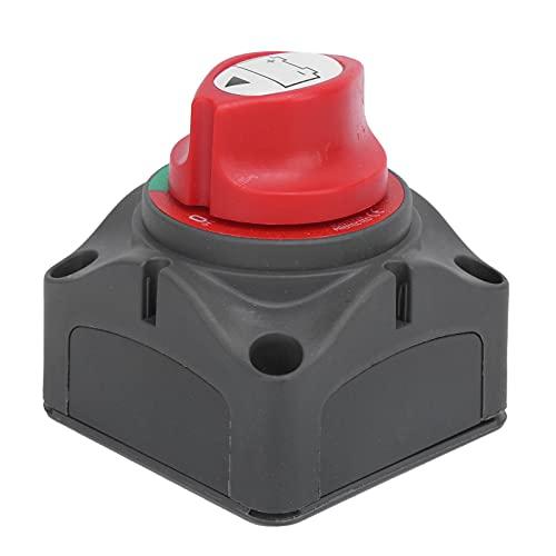 Surebuy Desconexión de la batería Encendido Apagado, en Sentido antihorario Posición de 45 Grados Interruptor de desconexión de la batería Fácil de Instalar para automóvil