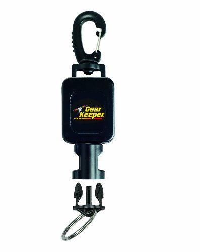 Hammerhead Industries Gear Keeper RT4-5912 Scuba Taschenlampen-Retraktor, klein, mit strapazierfähiger, schwenkbarer Snap-Clip-Halterung mit Q/C-II Spaltring-Zubehör