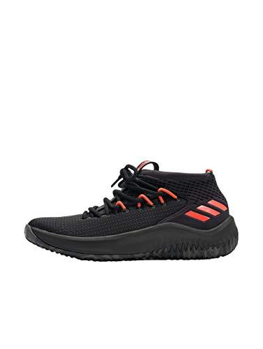 adidas Dame 4, Zapatos de Baloncesto Hombre, Negro (Cblack/Dgsogr/Hirere Cblack/Dgsogr/Hirere), 40 2/3 EU ⭐