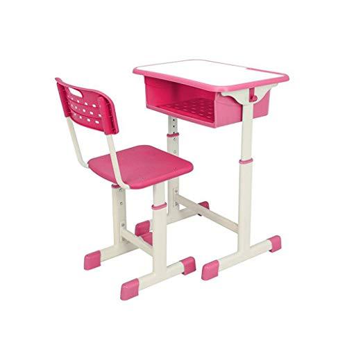 AILSAYA Kindersitz Kit, Höhenverstellbarer Kinder Chest Hocker, Studenten Schreibtisch Mit Stühlen Und Schubladen Für Kinder, 1 Tisch Und 1 Kinderstuhl Für Vorschulkinder