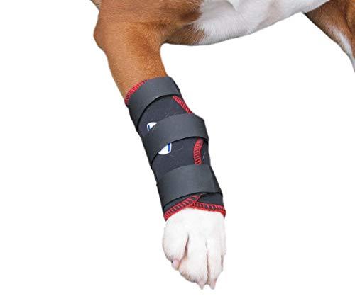 TSM 7520-S Vet-Reha Hund Rehabandage für das Vorderbein, S, schwarz