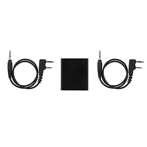 Jinxuny Caja de repetidor bidireccional Banda UHF/VHF Caja de repetidor de Walkie Talkie Super Larga Distancia Transmisión