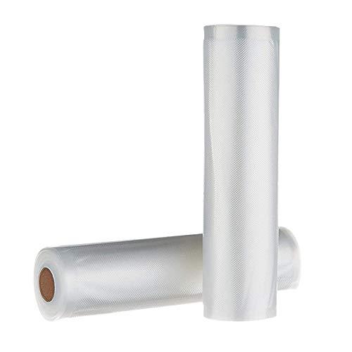 cherrypop Rollos de vacío 22 x 500 cm grandes - Bolsa de película de alta calidad / 2 rollos para película de vacío