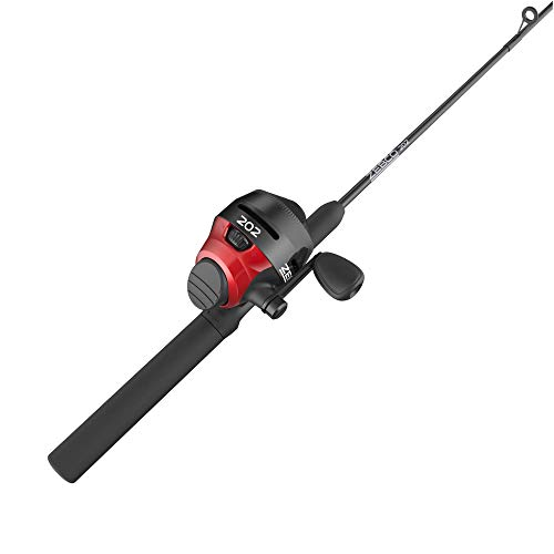 "Zebco 202 Spincast Combo Tackle Kit, 2.8:1 Gear Ratio, 5'6"" Length, Right Hand, Model Number: 1245562ML"