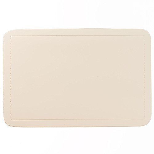 Kela 15008 Uni Set de table PVC Beige 44 x 29 x 0.1cm