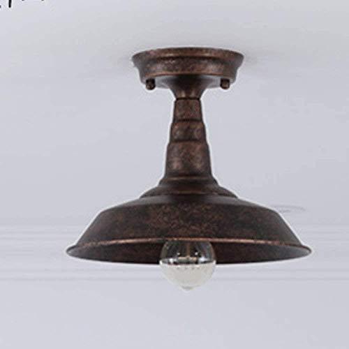 Semi-verzonken plafondlamp Classic American Wind Retro plafondlamp Industrial buitenste toegangsdeur buitenverlichting Aisle Corridor Rust