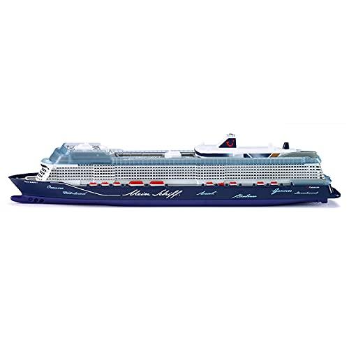 siku 1730, Kreuzfahrtschiff Mein Schiff 1, 1:1400, Metall/Kunststoff, Blau/Weiß, Nicht schwimmfähig