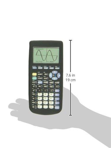 Guerrilla Silicone Case for Texas Instruments TI-83 Plus Graphing Calculator, Black Photo #2