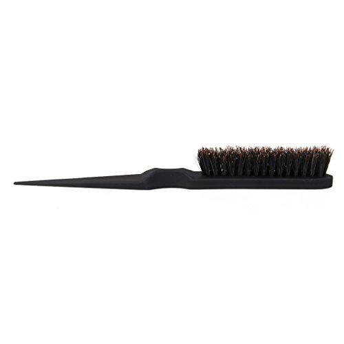 Sharplace Negro Peine de Peluquería Profesional Cepillo de Cabello Cuidado Pincel