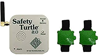 Safety Turtle New 2.0 Pet Immersion Pool/Water Alarm Kit - 2 Petbands