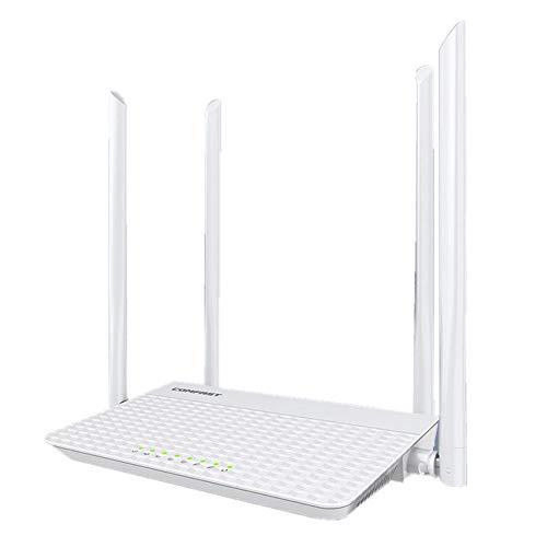 Mayyou Router WiFi con 4 Antenas de Doble Banda AC1200 Gigabit Wireless...