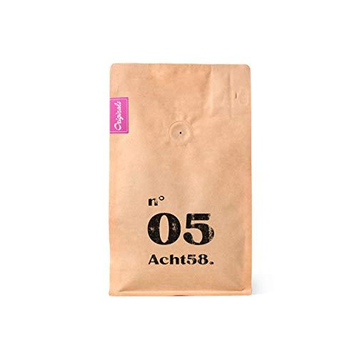 Espresso N°05 – Specialty Röstung – Feinster Arabica-Blend – Kaffee-Bohnen für Vollautomaten und Siebträger – Espresso-Bohnen (250 g)