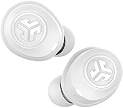 JLab Audio JBuds Air True Wireless Signature Bluetooth Earbuds + Charging Case - White - IP55 Sweat Resistance - Bluetooth 5.0 Connection - 3 EQ Sound Settings: JLab Signature, Balanced, Bass Boost