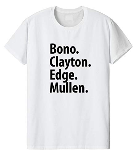 Fellow Friends - Band Members Line Up T-Shirt Unisex Medium White