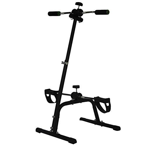 Kobo BB-8 Alloy Steel Dual Mini Pedal Exercise Cycle Bike, Black