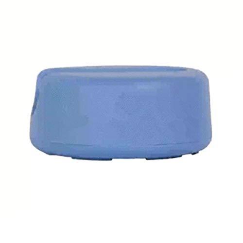 Limpiador reutilizable de algodón de doble capa de microfibra para la cara, toalla de limpieza facial removedor de maquillaje Puff algodón azul