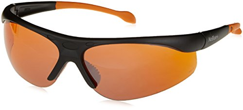 Hack Your Sleep NoBlue Blue Blocking Sunglasses Orange/Amber Tinted Lens Computer Glasses