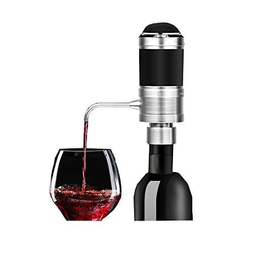 Decantador electrónico, presión de vino tinto y decantador rápido de oxígeno. black