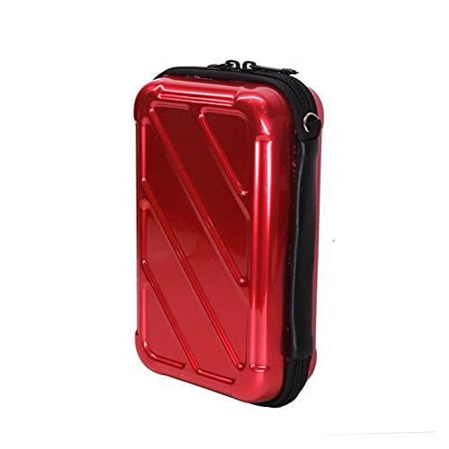 ZHANGAIGUO CCCZY Almacenamiento Impermeable USB Destello Dakota del Sur Caja de Cartas Bolsa Ajuste para Nintendo Handheld Console Nintendo Nuevo 3DS XL / 3DS XL Nuevo 3DSXL / LL (Color : Red)