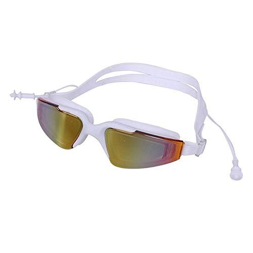 WUJIANCHAO Zwembril Bijziendheid Mannen en vrouwen Anti-condens professionele Waterdichte siliconen arena Zwembrillen voor volwassenen Zwembrillen voor volwassenen