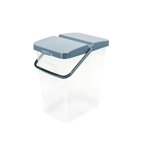 Unbekannt 10 L Behälter Waschpulver Futterbehälter Unibox Deckel Aufbewahrungsbox Blau